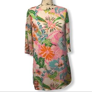 Lilly Pulitzer For Target Noisey Posey Shift Dress